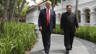 Kim Jong-Un und Donald Trump in Singapur (Foto: dpa / Picture alliance / AP / Evan Vucci)