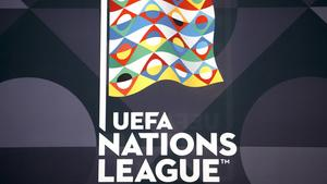 Das Logo der UEFA Nations League (Foto: dpa/Salvatore Di Nolfi)