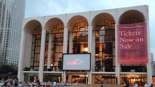 Die Metropolitan Oper im Lincoln Center in New York (Foto: dpa)