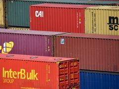 Fracht-Container (Foto: dpa)