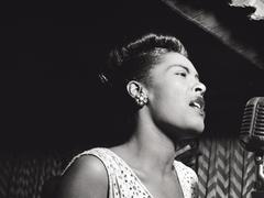 Billie Holiday am singen  (Foto: SR)