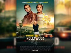 "Filmplakat zu Quentin Tarantinos Film ""Once Upon a Time in Hollywood"" (Foto: Sony Pictures)"