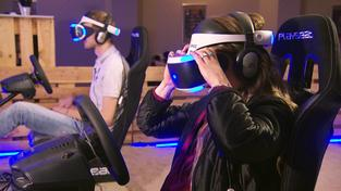 Virtual-Reality-Gaming (Foto: SR Fernsehen)