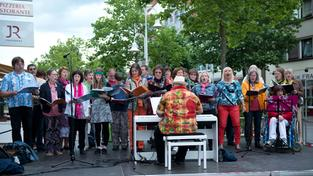 Sing City 2015 in Homburg (Foto: Pasquale D'Angiolillo)