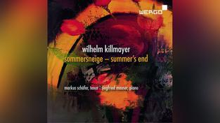 CD-Cover: Wilhelm Killmayer (Foto: Musikverlag)
