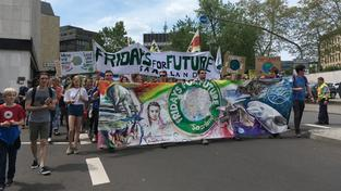 Demo Fridays for Future, Saarbrücken (Foto: Simin Sadeghi/SR)