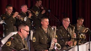 """SR 3 echt live!"" mit der United States Air Forces in Europe Band (Foto: SR/Pasquale D'Angiolillo)"