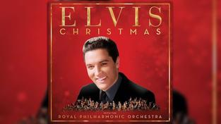 "CD-Cover: ""Christmas With Elvis and the Royal Philharmonic Orchestra"" (Foto: Plattenlabel)"