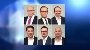 Peter Altmaier, Heiko Maas, Thomas Lutze, Markus Tressel, Oliver Luksic, Christian Wirth (Foto: Pasquale D'Angiolillo)