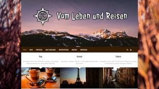 Screenshot der Webseite 'Life2Travel' (Foto: life2travel.de)