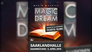 Plakat: Maxim Maurice - Magic Dream (Foto: Veranstalter)