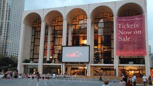 Die Metropolitan Opera in New York (Foto: picture alliance / dpa / Christina Horsten)
