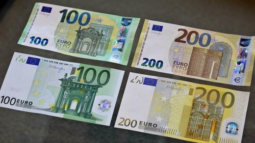 Neue Hundert Euro Scheine