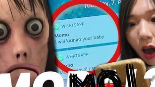 Horror figur momo
