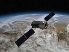 Ein Satellit im All (Foto: Nasa/dpa)