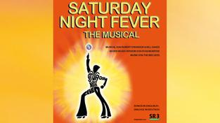 Plakat  Saturday Night Fever - das Musical (Foto: Congresshalle Saarbrücken)