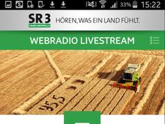 Screenshot der SR 3 App (Foto: SR)