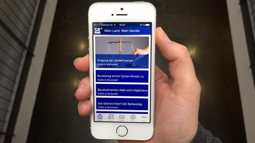 Iphone App Entfernungsmesser : Sr mit den apps interaktiv unterwegs